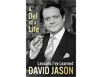 A Del of a life, signed by David Jason
