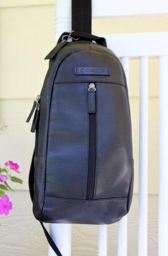 Coach Leather Sling Bag   eBay