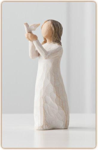 willow tree angel figurines ebay. Black Bedroom Furniture Sets. Home Design Ideas