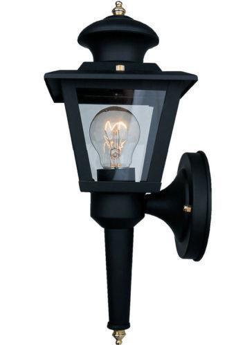 portfolio outdoor wall light ebay. Black Bedroom Furniture Sets. Home Design Ideas
