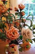 Glass Flower Bouquet