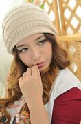 Womens Slouch Baggy Beanies