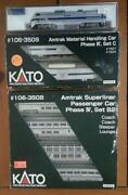 N Scale Amtrak