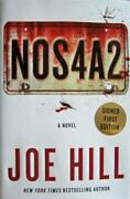 Joe Hill Signed