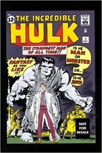 Incredible Hulk #1 Reprint First Appearance Marvel Avengers