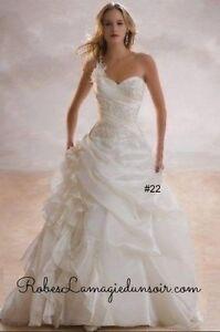 #22 - Tailles 2  8 10 12 - Robe de mariée