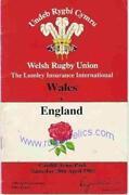 Wales Rugby Memorabilia