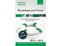 Employment Law Questions & Answers 2012 and 2013 Oxford NEW