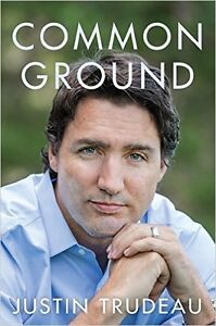 Justin Trudeau signed book