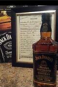 Jack Daniels Decanter