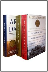 The Liberation Trilogy by Rick Atkinson (hardcover boxed set)