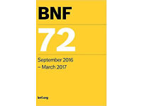Brand New British National Formulary BNF 72 - September 2016 - March 2017