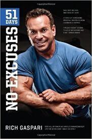 No Excuses - Rich Gaspari Body Building, Diet, Exercise plan, Gym