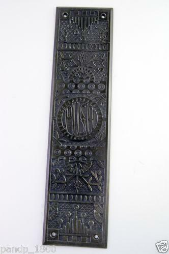 Antique Door Push Ebay