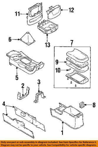Hyundai Armrest Interior Ebay