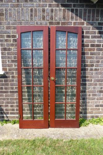 Pair Glazed Internal Doors Ebay