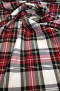 Plaid Upholstery Fabric