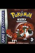 Pokemon Gameboy Advance