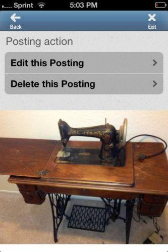 1926 Singer Sewing Machine Ebay