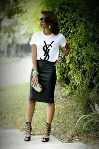 4dfe202c31 YSL T Shirt White