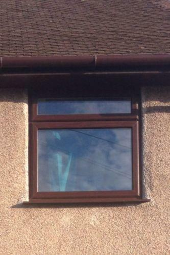 Used brown upvc windows ebay for Brown upvc door