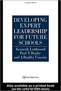 Developing Expert Leadership (University Textbook, Principal)