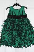 Green Christmas Dress 3T