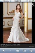 Wedding Dress with Crystal