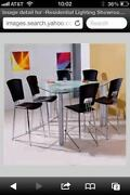 Used Glass Dining Table