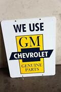 Chevrolet Porcelain Sign