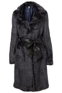 Long Faux Fur Coat | eBay