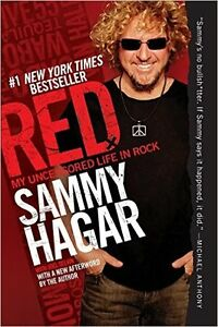 SAMMY HAGAR - Red My Uncensored Life in Rock - Hard cover