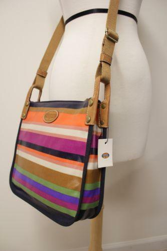 Fossil Canvas Handbag Ebay