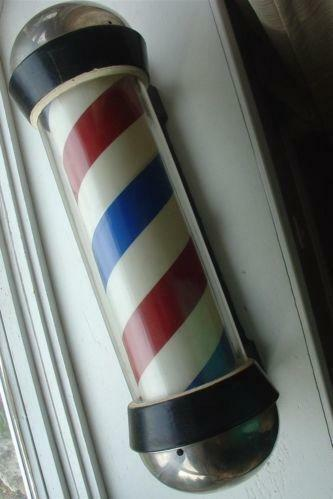 Used Barber Pole Collectibles Ebay