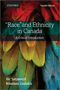 Race and Ethnicity in Canada 4th edition