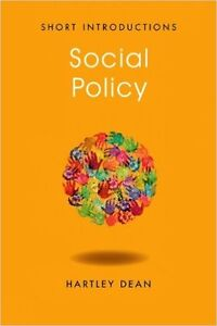 Social Policy Short Introduction (2nd Edition) by Hartley Dean