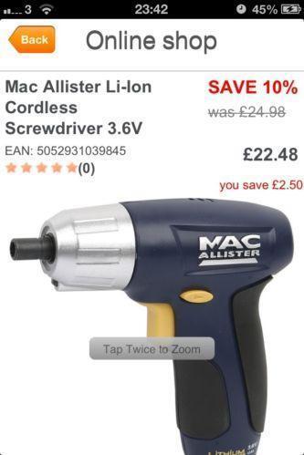 macallister power tools ebay. Black Bedroom Furniture Sets. Home Design Ideas
