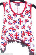Girls Union Jack T Shirt