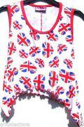 Girls Union Jack T Shirt