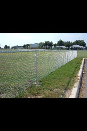 Galvanized Chain Link Fence Ebay