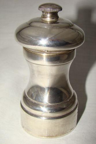 Silver Pepper Mill Ebay