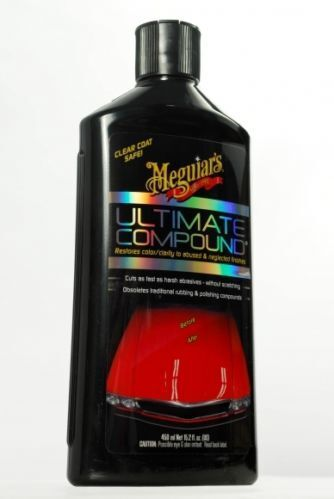 G17216 MEGUIARS 450ML ULTIMATE COMPOUND LIQUID HOLDEN FORD HSV FPV CHEV