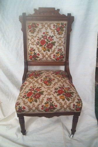 Victorian Eastlake Chair Ebay