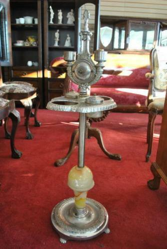 Antique Lamp Stand Ebay