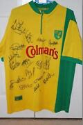 Norwich City Signed Shirt