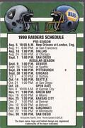 Oakland Raiders Schedule