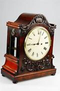 Antique Mahogany Clock