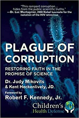 Plague of Corruption  HARDCOVER  2020  Judy Mikovits