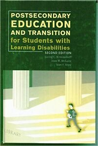 Postsecondary Education and Transition for Students With Learnin