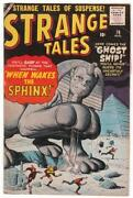Strange Tales Comic Book